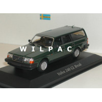 Volvo 245 240 Estate 1986 donkergroen MAXIchamps 1:43